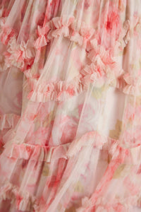 Ruby Bloom Smocked Gown