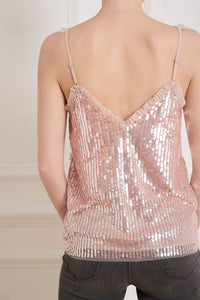 Scarlett Sequin Vest Top
