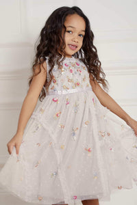 Shimmer Ditsy Kids Dress