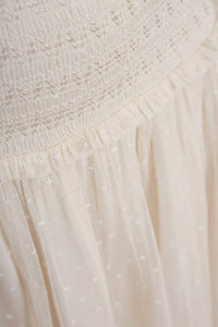 Smocked Kisses Tulle Ballerina Skirt