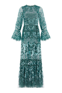 Snowdrop Gown - Dark Green