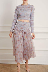 Think Of Me Smoked Ballerina Skirt