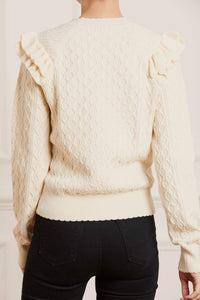 Trellis Stitch Mid-Line Jumper - Small