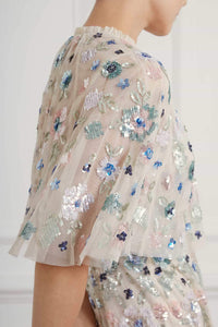 Wildflower Sequin Cape
