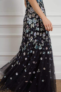 Wildflower Sequin Gown
