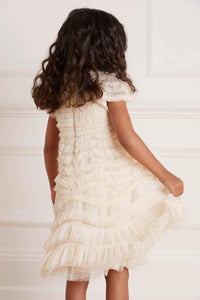 Wild Rose Ruffle Kids Dress