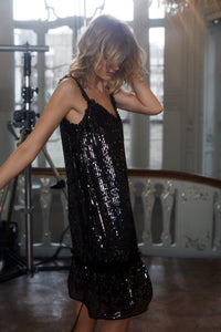 Gloss Sequin Cami Dress