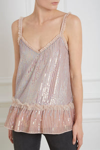 Gloss Sequin Cami Top