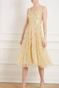 Valentina Sequin Dress