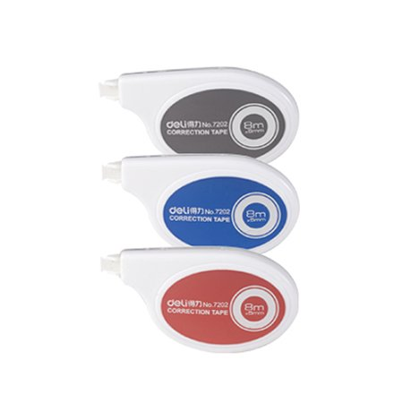 GlobalDeli- Premium Correction Tape.Size 1/5 x 315 Inches. Assorted Colors Whiteout Bulk Tape.