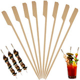 Bamboo Skewers for Cocktail and Appetizer Picks –7 inch (Pack-500) Wooden Cocktail Skewers and Bamboo Toothpicks for Bloody Mary Skewers Appetizers Food Garnish Sandwich Fruit Kabobs Drinks BBQ Grill
