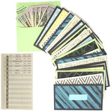 Cash Envelopes Money Budget Planner- 24 Pack Budget Envelopes -6 Assorted Cute Colored Money Envelopes System for Cash Saving – Ideal Cash Envelope System Wallet Organizer