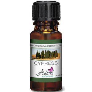 Cypress Essential Oil - 100% Pure Blue Diamond Therapeutic Grade by Avían? Botanicals (10 ml)