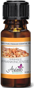 Organic Frankincense Essential Oil Ultra Premium 100% Pure Therapeutic Grade Sweet Boswellia Sacra - Very High Potency, Undiluted By Avían? Botanicals - 10ml