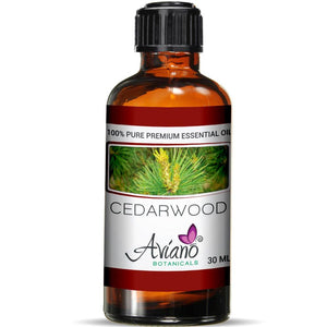 Cedarwood Essential Oil - 100% Pure Blue Diamond Therapeutic Grade By Avíano Botanicals (30 ml)