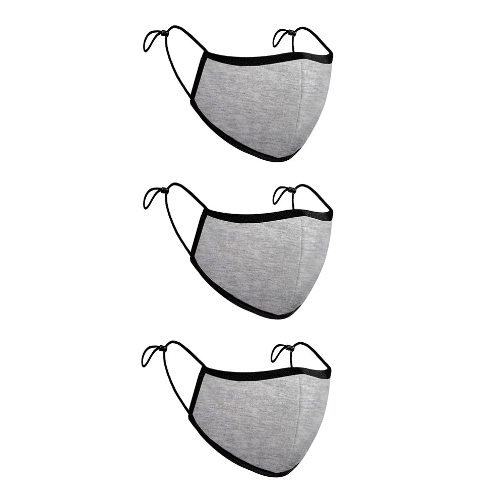 Comfort-Fit Face Mask - Pack of 3