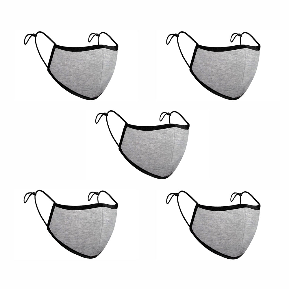 Comfort-Fit Face Mask - Pack of 5