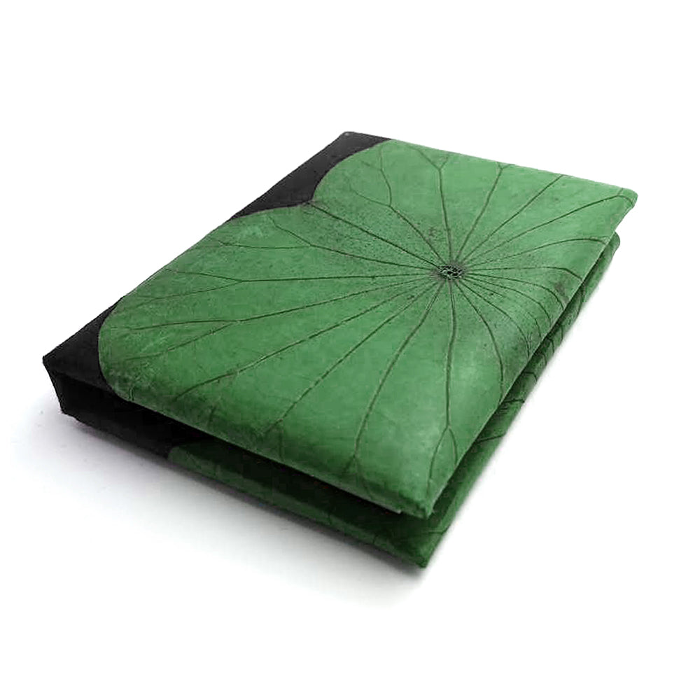 A6 Lotus Notebook - Green