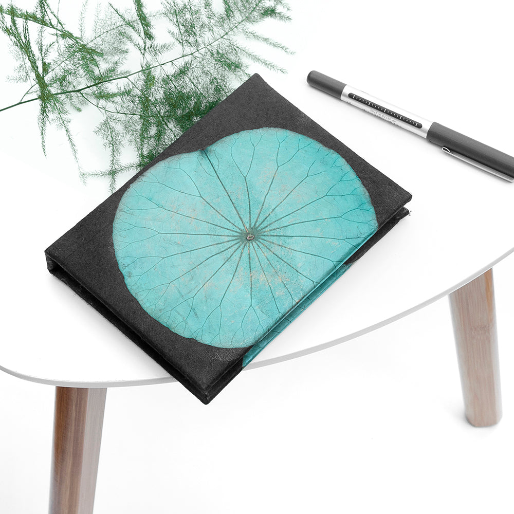 A6 Lotus Notebook - Teal