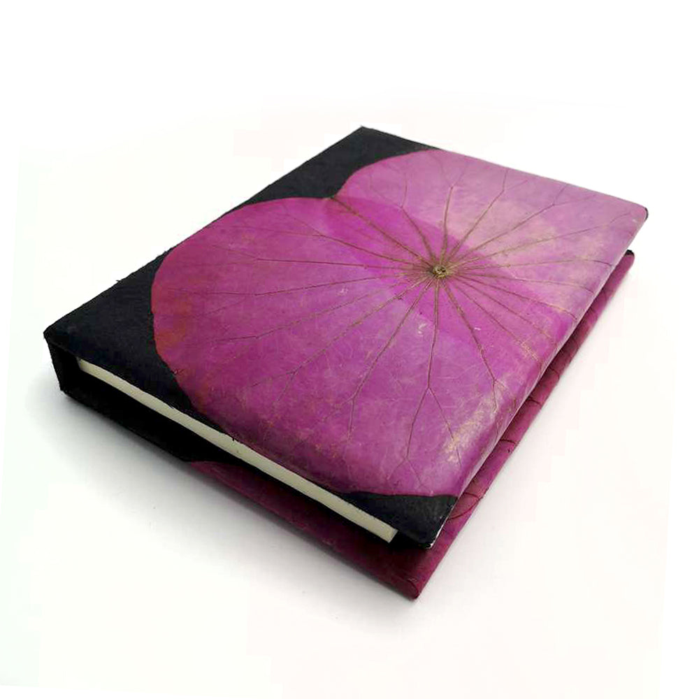 A5 Lotus Notebook - Pink