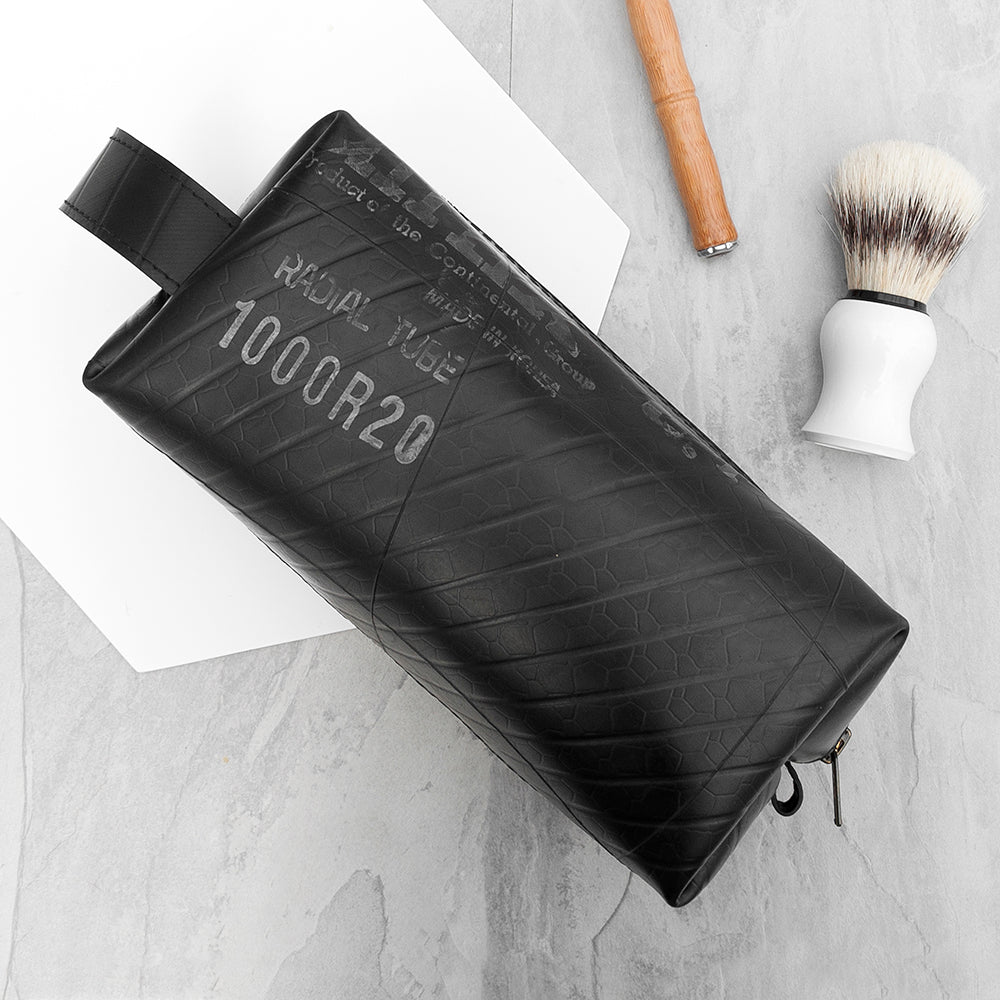 Upcycled Truck Tyre Rubber Wash Bag