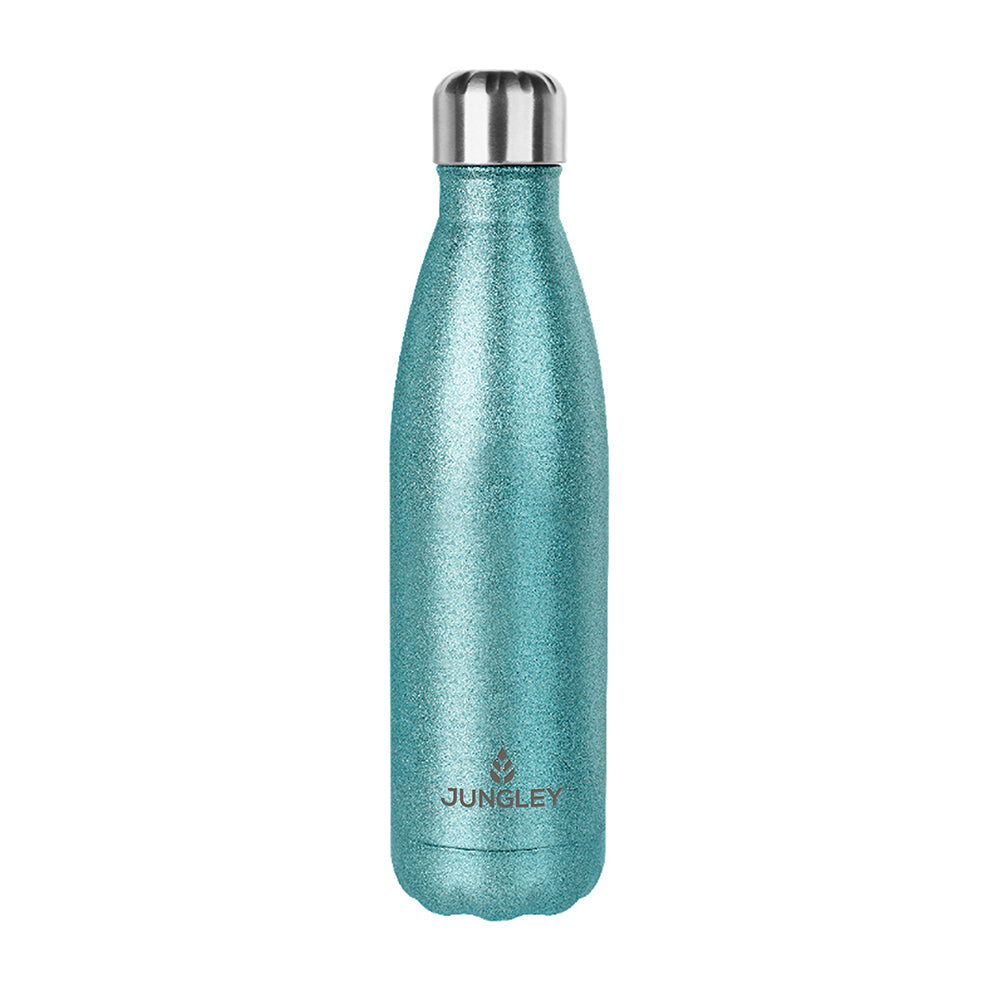 Personalised Glitter Insulated Water Bottle