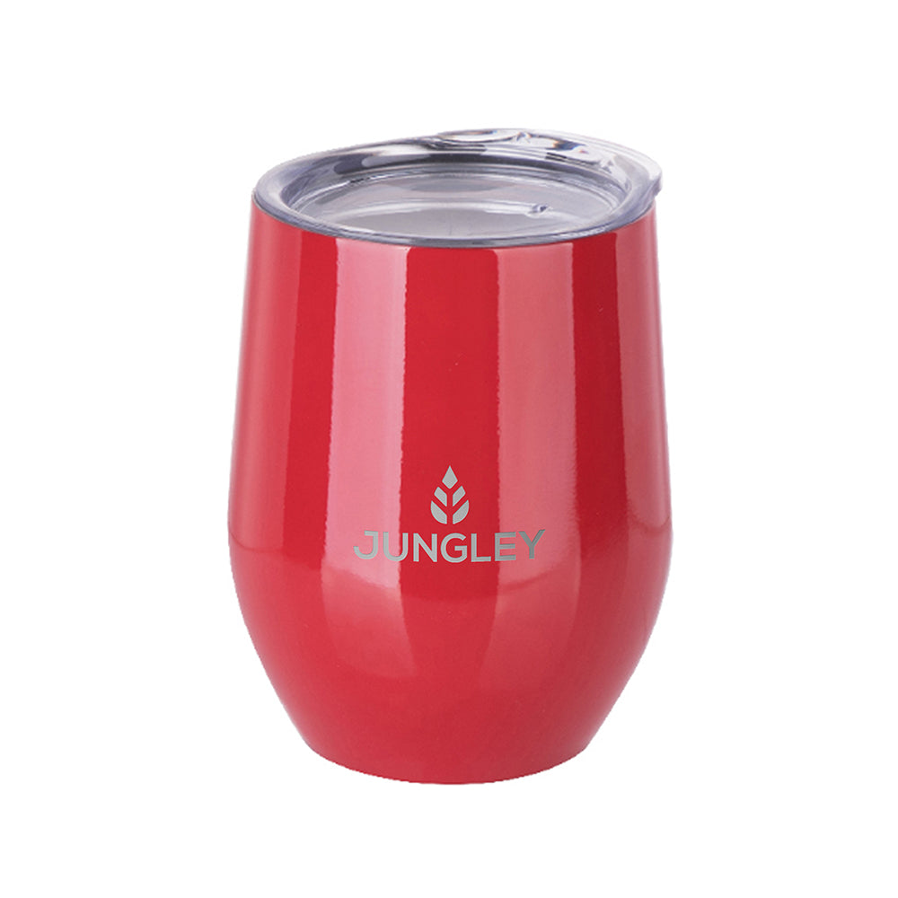 Personalised Insulated Stemless Gloss Wine Tumbler