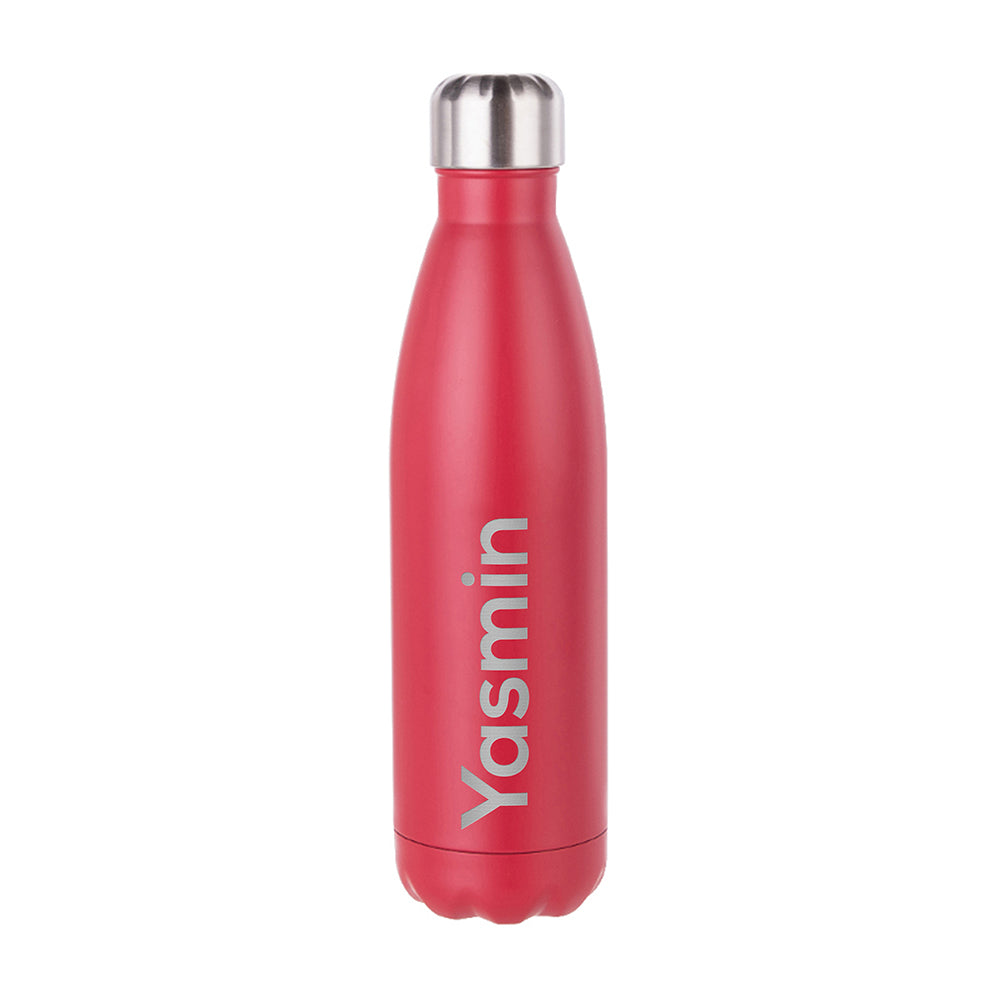 Personalised Matte Insulated Water Bottle