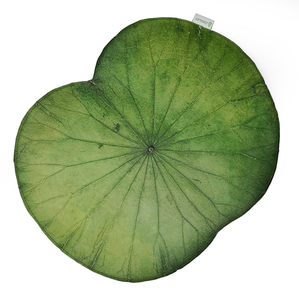 Green Lotus Leaf Placemats - Set of Four