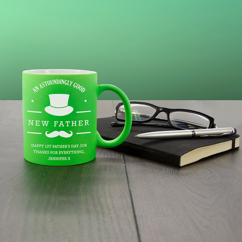 Personalised An Astoundingly Good Father Matte Colourful Mug