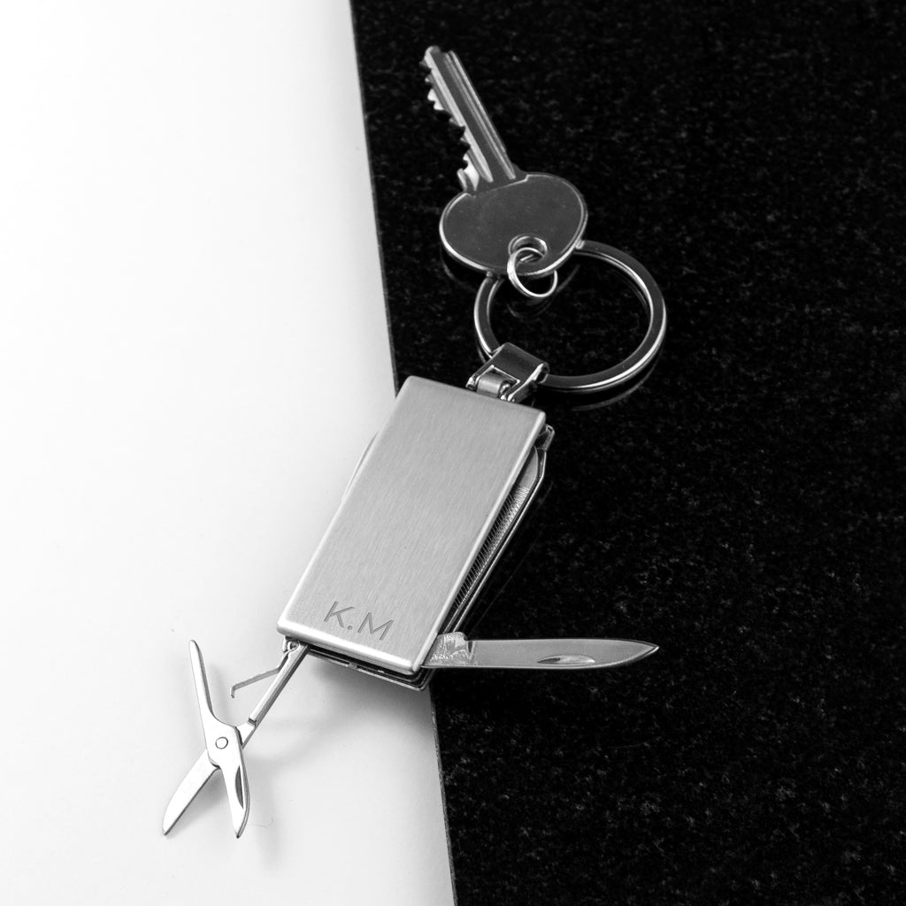 Personalised Multitool Keyring