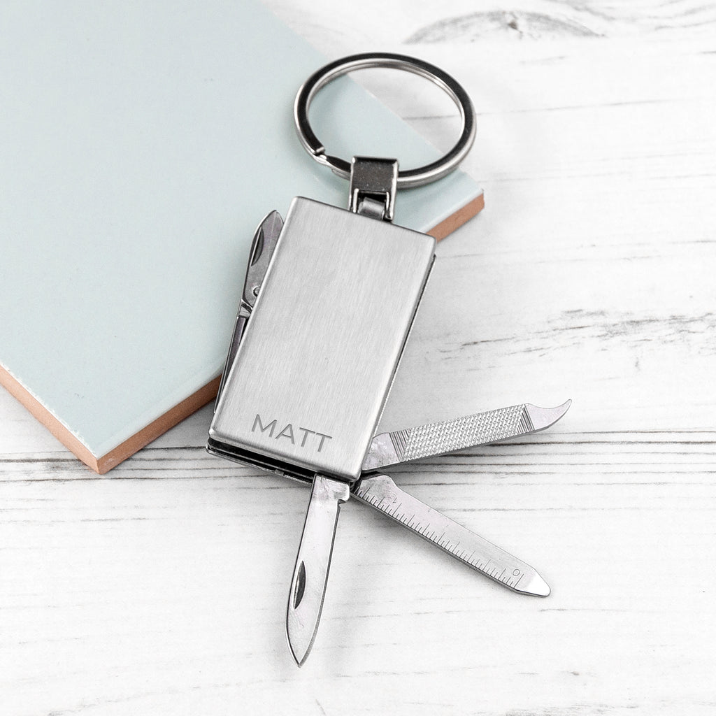Personalised Multitool Keyring - treat-republic