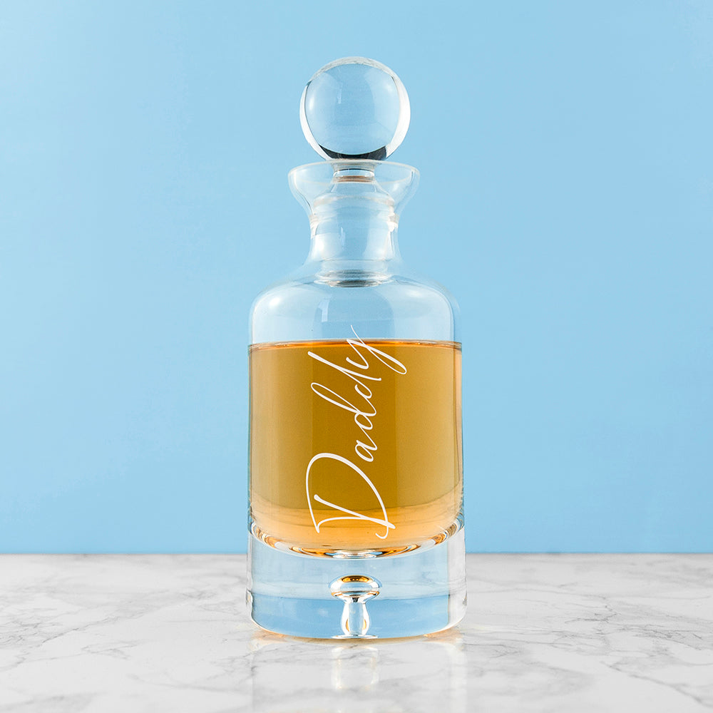 Personalised Engraved Small Decanter