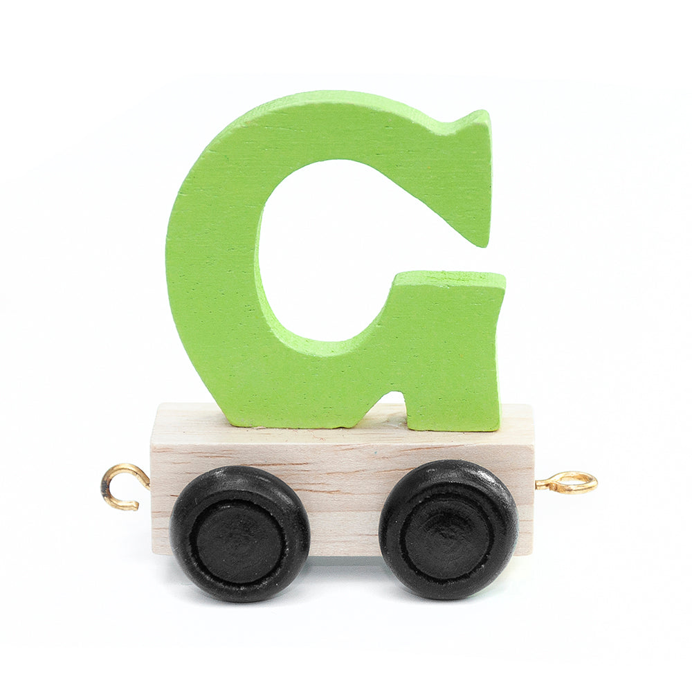 Personalised Children's Wooden Train - Unicorn and Fairy