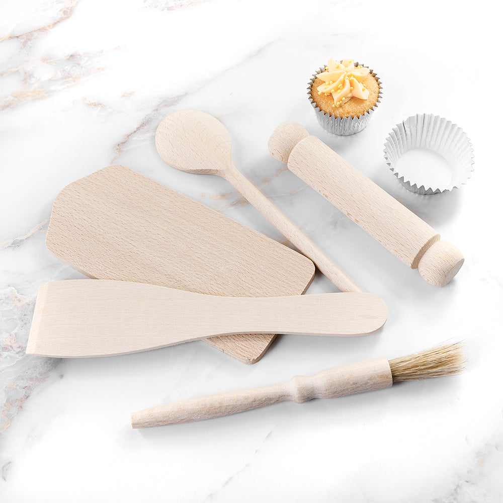 Personalised Kids Gingerbread Baking Set