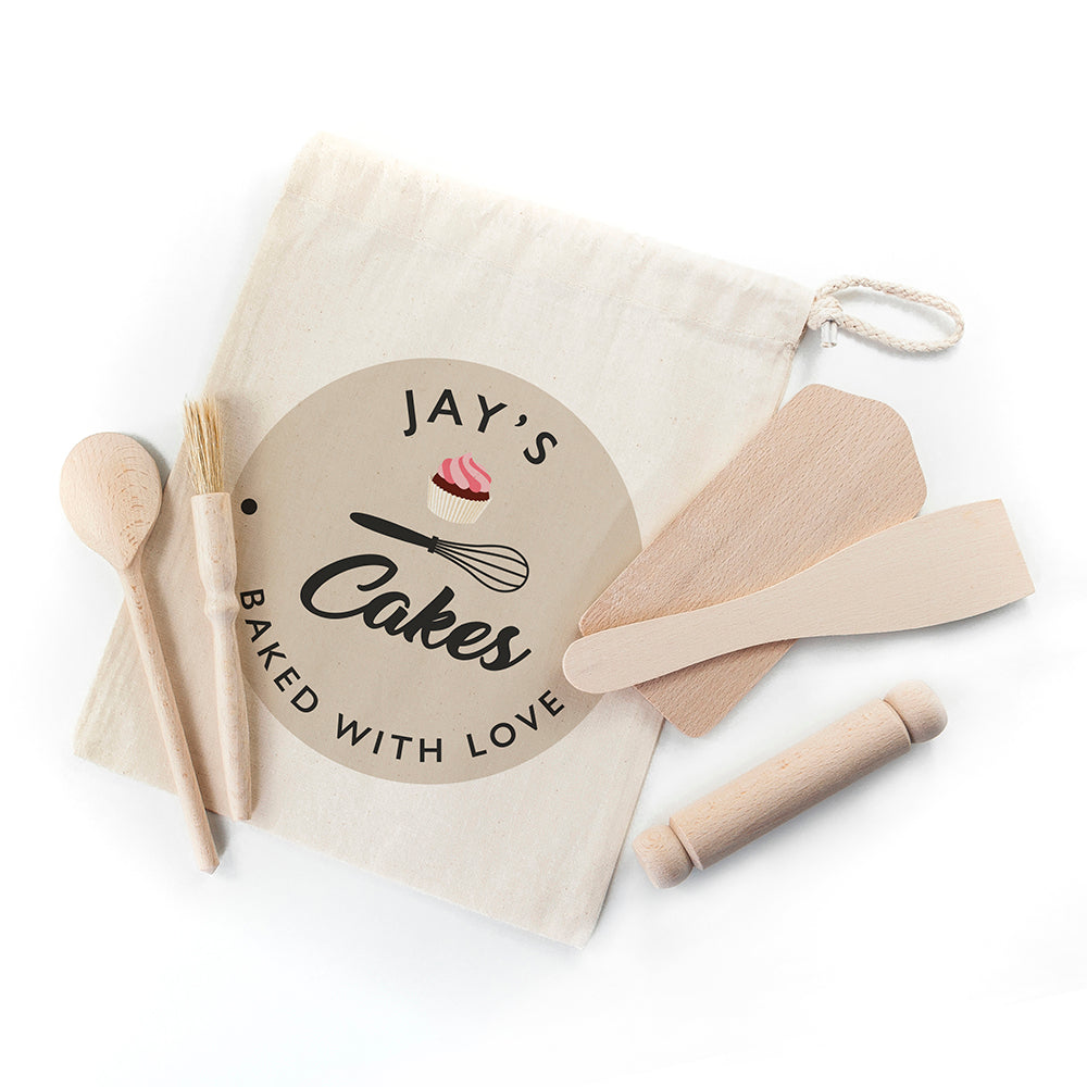 Personalised Kids Home Baking Set