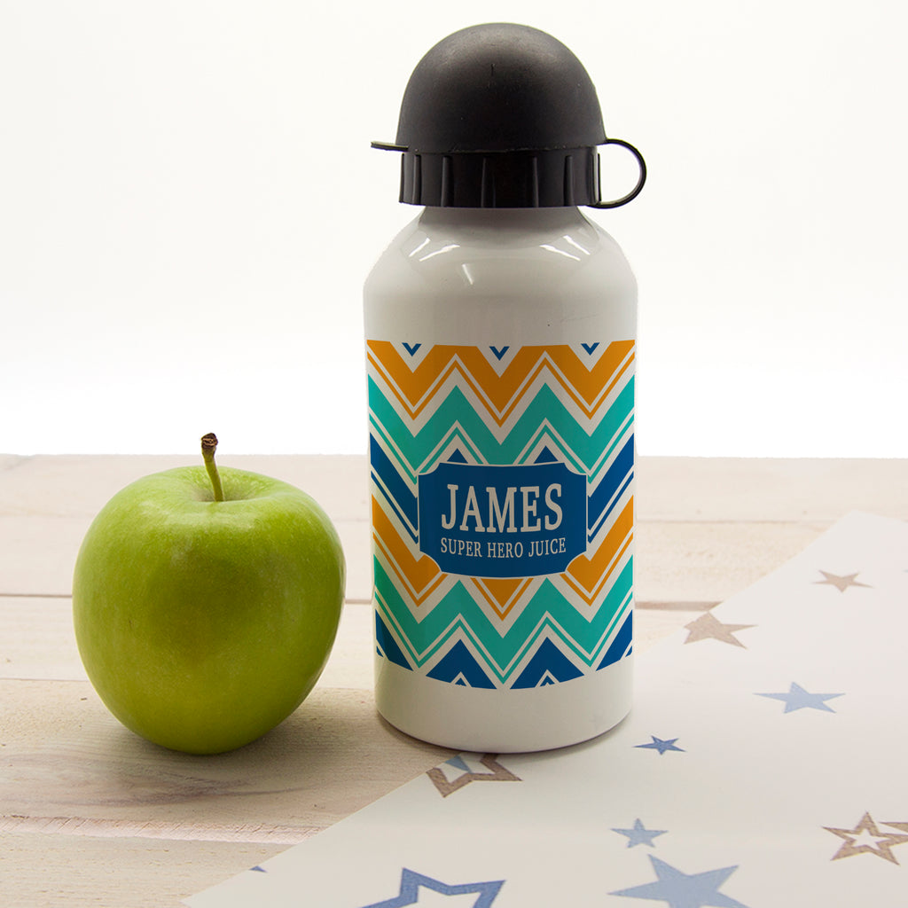 Boys Super Hero Juice Personalised Water Bottle - treat-republic