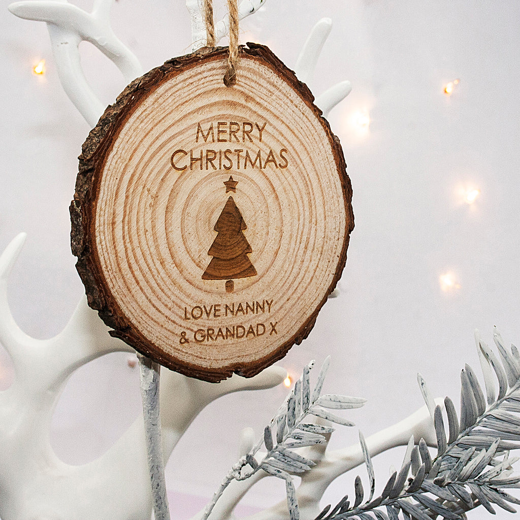 Merry Christmas! Tree Hanging Decoration - treat-republic