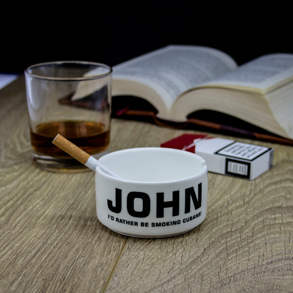 Personalised Gentleman's Ashtray - treat-republic
