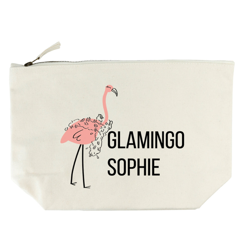 Glamingo Cream Wash Bag - treat-republic