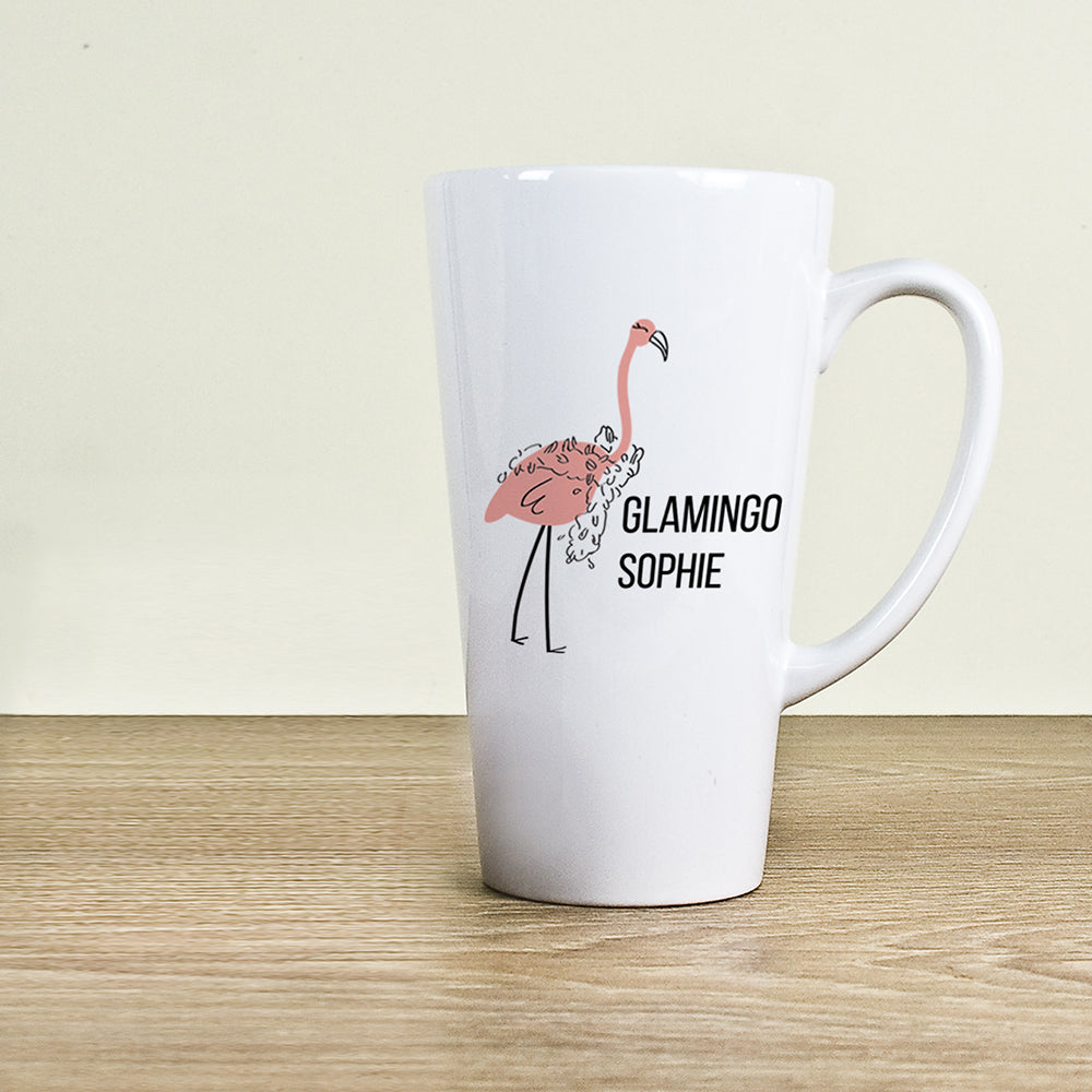 Glamingo Latte Mug - treat-republic