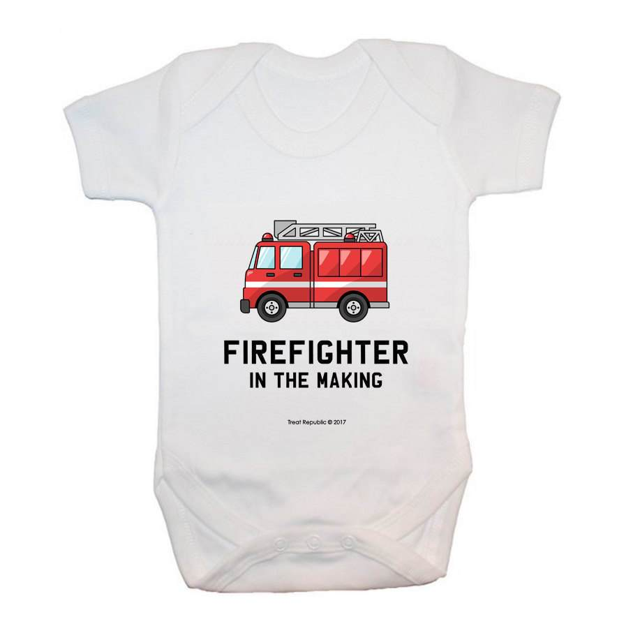 Firefighter In The Making - treat-republic