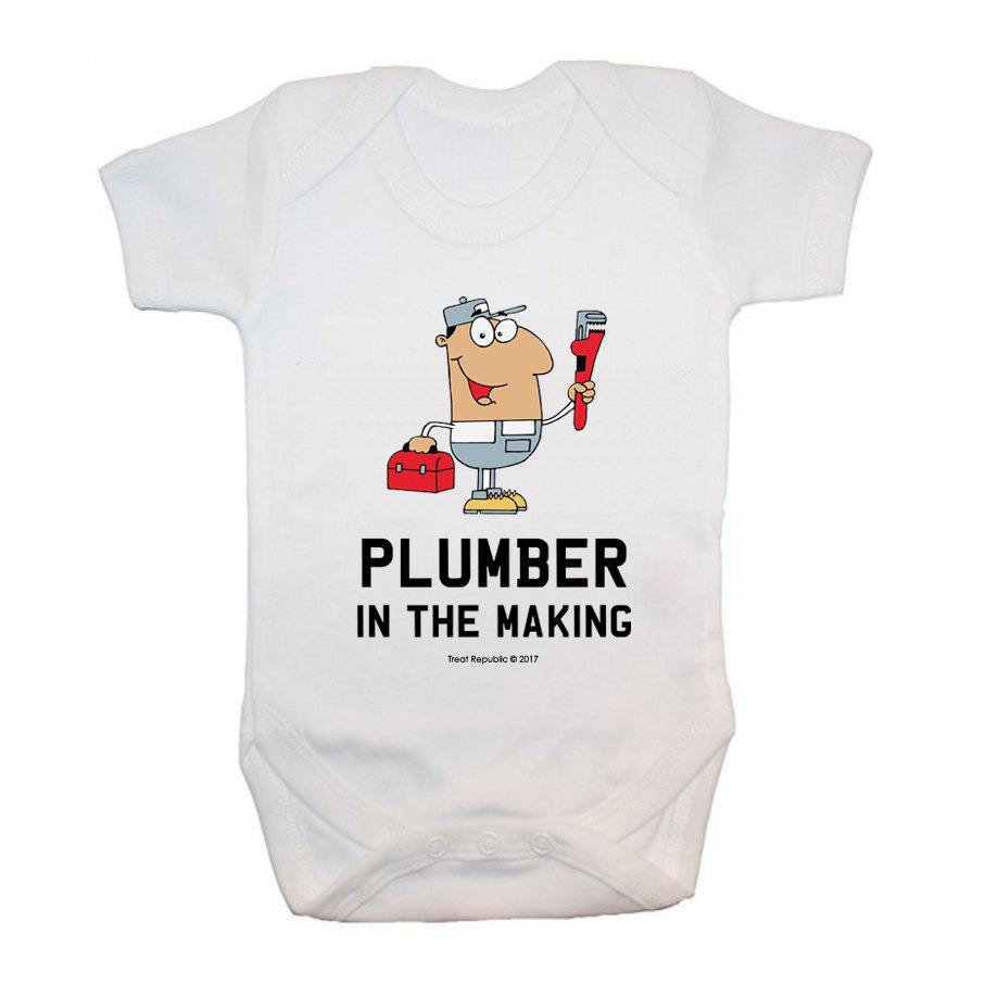Plumber In The Making - treat-republic