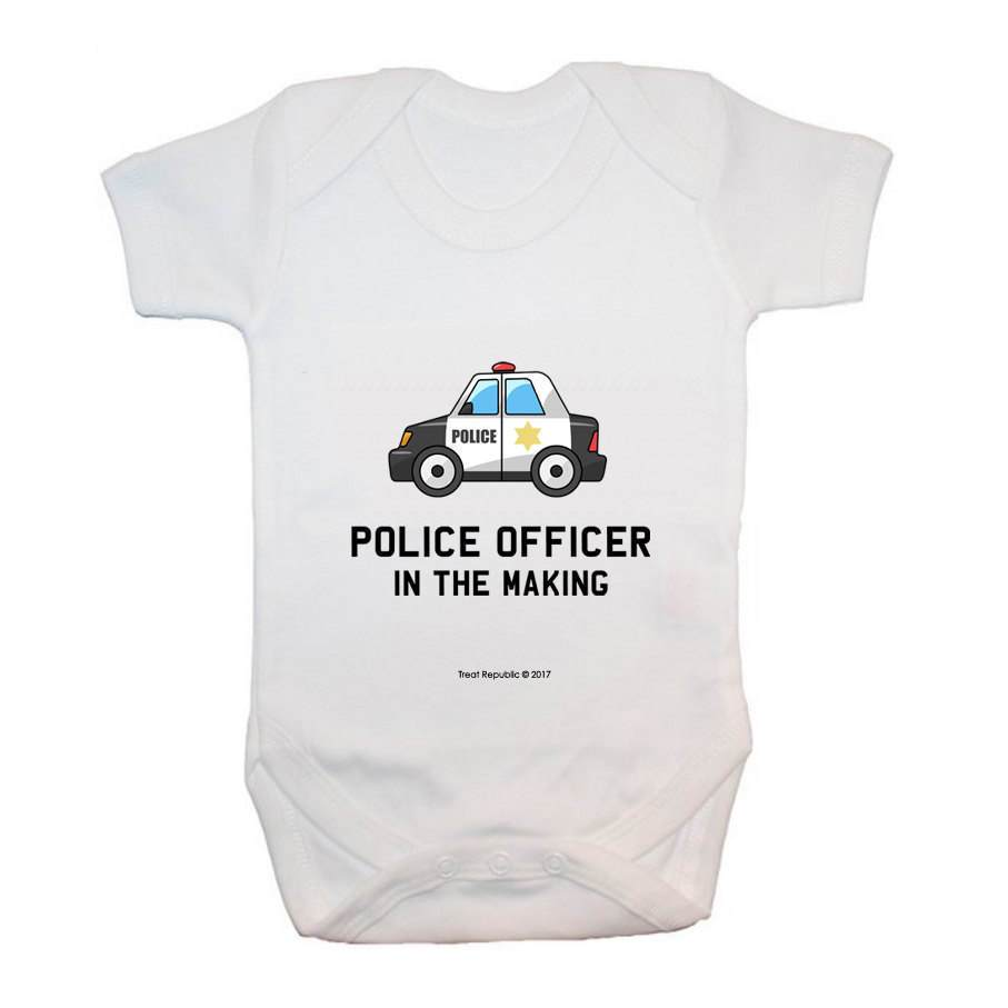Police Officer In The Making - treat-republic
