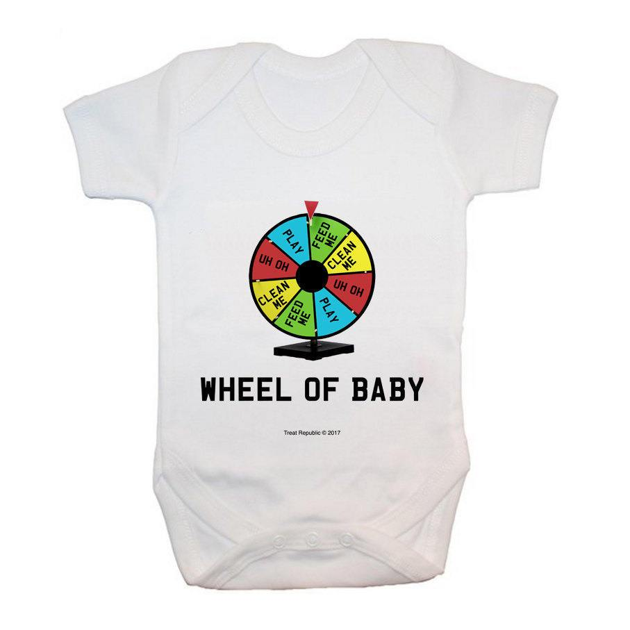 Wheel Of Baby Bodysuit - treat-republic