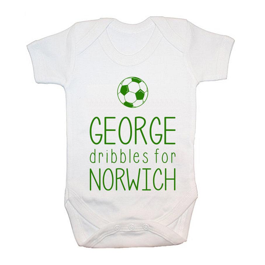 Personalised This Baby Dribbles For Baby Grow - treat-republic