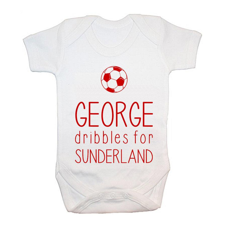 Personalised This Baby Dribbles For Baby Grow