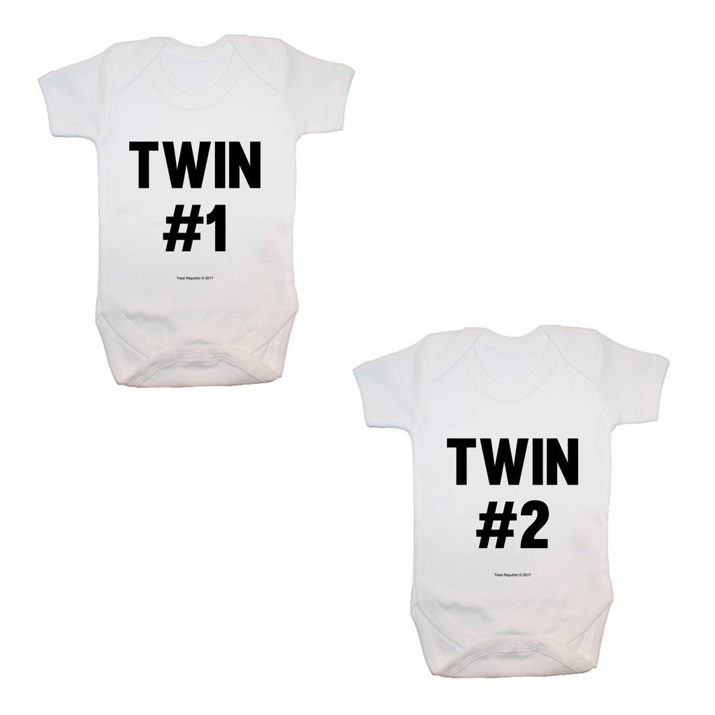 Twins (#1 and #2) Bodysuits - treat-republic