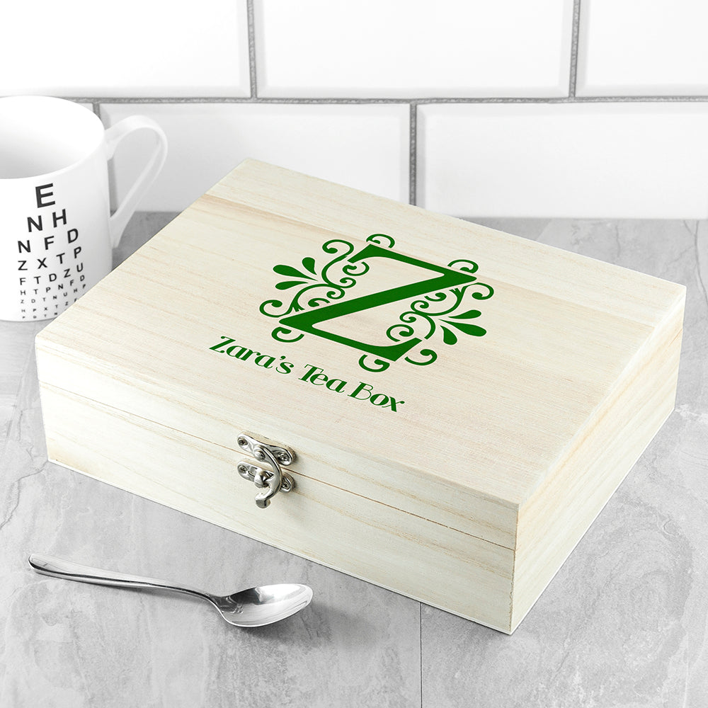 Initial Tea Box with Tea - treat-republic