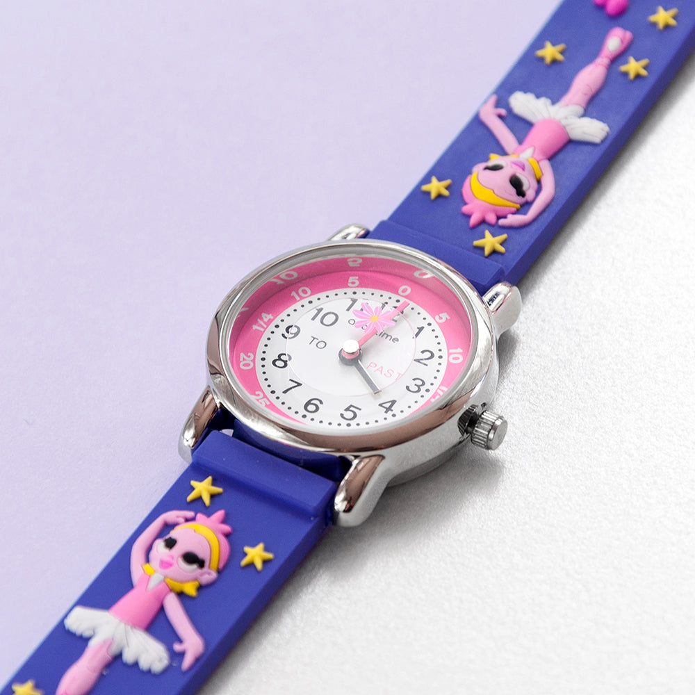 Kids Personalised Ballerina Watch